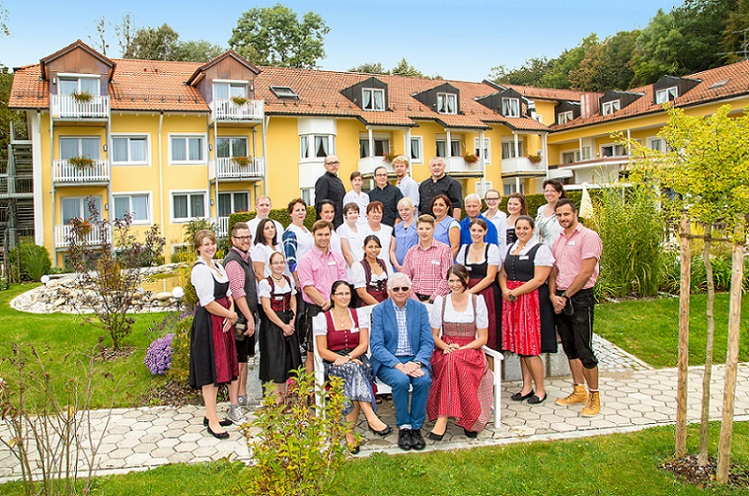 Das Team des Vitalhotels Sonneck in Bad Wörishofen